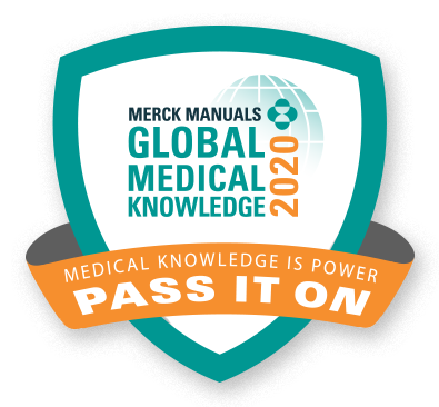 Merck Manuals Global Medical Knowledge - Pass it on!