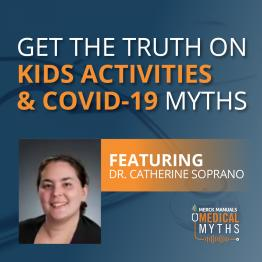 Listen to Kids Activities and COVID-19 Myths with Dr. Soprano