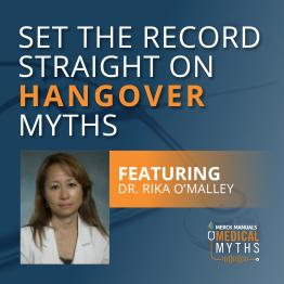 Listen to Hangover Myths with Dr. Omalley