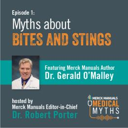 Listen to Bites and Stings with Dr. Omalley