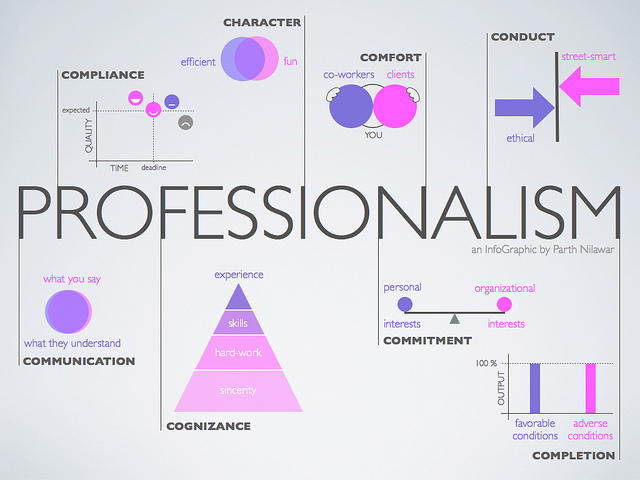 Thoughts on Professionalism
